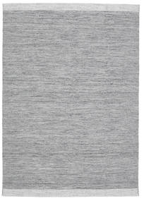 Serafina - Tummanharmaa Melange Matto 160X230 Moderni Käsinkudottu Vaaleanharmaa/Vaaleansininen (Villa, Intia)