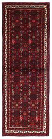 Hosseinabad Matto 69X193 Itämainen Käsinsolmittu Käytävämatto Tummanpunainen (Villa, Persia/Iran)