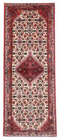 Hamadan Matto 73X191 Itämainen Käsinsolmittu Käytävämatto Tummanpunainen/Tummanruskea (Villa, Persia/Iran)