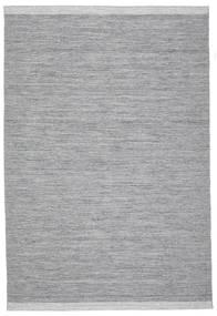Serafina - Tummanharmaa Melange Matto 0X0 Moderni Käsinkudottu Vaaleanharmaa/Vaaleansininen (Villa, Intia)