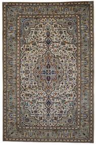 Keshan Matto 254X387 Itämainen Käsinsolmittu Tummanharmaa/Vaaleanharmaa Isot (Villa, Persia/Iran)