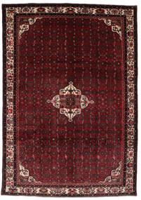 Hamadan Matto 206X298 Itämainen Käsinsolmittu Tummanpunainen (Villa, Persia/Iran)