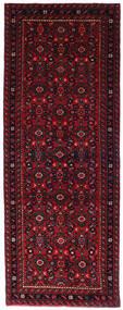 Hosseinabad Matto 72X194 Itämainen Käsinsolmittu Käytävämatto Tummanpunainen/Punainen (Villa, Persia/Iran)