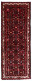 Hosseinabad Matto 71X193 Itämainen Käsinsolmittu Käytävämatto Tummanpunainen/Tummanruskea (Villa, Persia/Iran)
