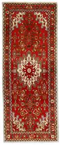 Hamadan Matto 70X175 Itämainen Käsinsolmittu Käytävämatto Ruoste/Vaaleanruskea (Villa, Persia/Iran)
