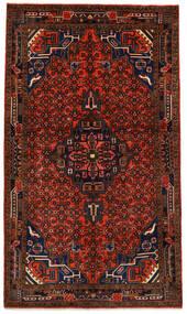 Koliai Matto 145X252 Itämainen Käsinsolmittu Tummanruskea/Tummanpunainen (Villa, Persia/Iran)
