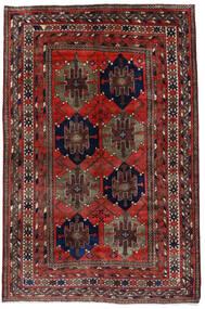 Mahal Matto 153X227 Itämainen Käsinsolmittu Tummanpunainen (Villa, Persia/Iran)