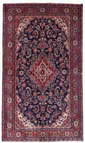 Mahal Matto 136X236 Itämainen Käsinsolmittu Tummanvioletti/Tummanpunainen (Villa, Persia/Iran)