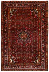 Hosseinabad Matto 164X250 Itämainen Käsinsolmittu Tummanpunainen/Tummanruskea (Villa, Persia/Iran)