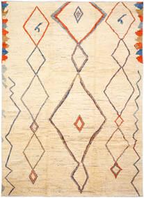 Moroccan Berber - Afghanistan Matto 255X365 Moderni Käsinsolmittu Beige/Tummanbeige Isot (Villa, Afganistan)