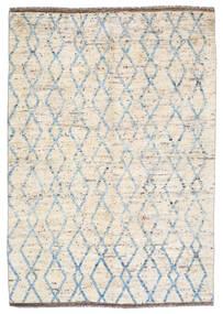 Moroccan Berber - Afghanistan Matto 172X240 Moderni Käsinsolmittu Beige/Vaaleanharmaa (Villa, Afganistan)