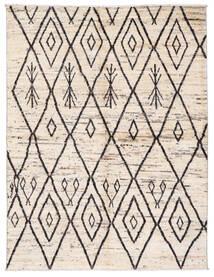 Moroccan Berber - Afghanistan Matto 170X222 Moderni Käsinsolmittu Beige/Vaaleanharmaa (Villa, Afganistan)