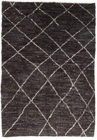 Moroccan Berber - Afghanistan Matto 171X242 Moderni Käsinsolmittu Tummanruskea/Musta (Villa, Afganistan)