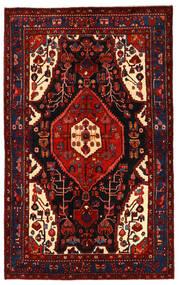 Koliai Matto 158X255 Itämainen Käsinsolmittu Tummanpunainen/Ruoste (Villa, Persia/Iran)