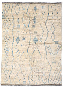 Moroccan Berber - Afghanistan Matto 181X239 Moderni Käsinsolmittu Beige/Vaaleanharmaa (Villa, Afganistan)