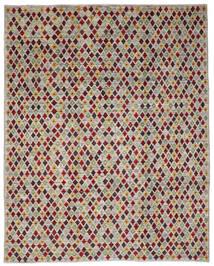 Moroccan Berber - Afghanistan Matto 235X288 Moderni Käsinsolmittu Vaaleanharmaa/Oliivinvihreä (Villa, Afganistan)