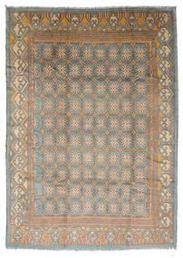Moroccan Berber - Afghanistan Matto 210X292 Moderni Käsinsolmittu Vaaleanharmaa/Vaaleanruskea (Villa, Afganistan)