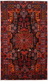 Nahavand Matto 150X260 Itämainen Käsinsolmittu Tummanruskea/Tummanpunainen/Ruoste (Villa, Persia/Iran)