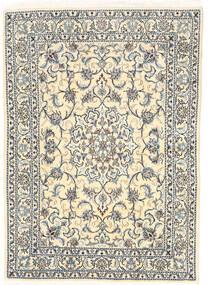 Nain Matto 147X208 Itämainen Käsinsolmittu Beige/Vaaleanharmaa (Villa, Persia/Iran)