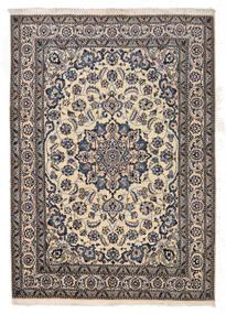 Nain Matto 167X233 Itämainen Käsinsolmittu Vaaleanharmaa/Tummanharmaa/Beige (Villa, Persia/Iran)