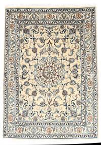 Nain Matto 147X210 Itämainen Käsinsolmittu Vaaleanharmaa/Beige (Villa, Persia/Iran)