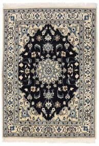 Nain Matto 145X205 Itämainen Käsinsolmittu Tummanharmaa/Vaaleanharmaa (Villa, Persia/Iran)