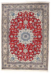 Nain Matto 164X228 Itämainen Käsinsolmittu Vaaleanharmaa/Beige (Villa, Persia/Iran)