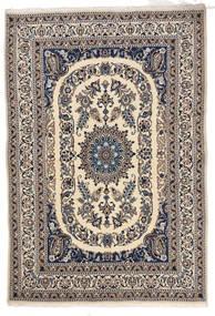 Nain Matto 166X244 Itämainen Käsinsolmittu Vaaleanharmaa/Beige/Tummanharmaa (Villa, Persia/Iran)