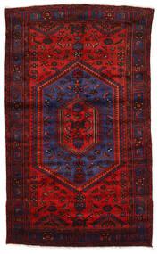 Zanjan Matto 142X230 Itämainen Käsinsolmittu Tummanpunainen/Ruoste (Villa, Persia/Iran)