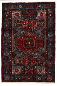 Saveh Matto 142X210 Itämainen Käsinsolmittu Tummanpunainen (Villa, Persia/Iran)