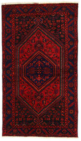 Hamadan Matto 138X240 Itämainen Käsinsolmittu Tummanpunainen/Ruoste (Villa, Persia/Iran)