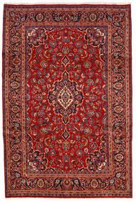 Keshan Matto 200X300 Itämainen Käsinsolmittu Tummanpunainen/Ruoste (Villa, Persia/Iran)