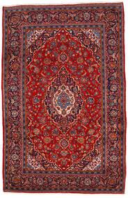 Keshan Matto 202X310 Itämainen Käsinsolmittu Tummanpunainen/Ruoste (Villa, Persia/Iran)