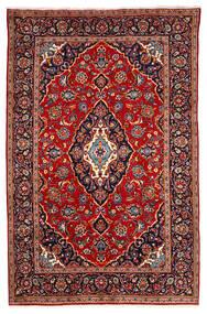 Keshan Matto 190X295 Itämainen Käsinsolmittu Tummanpunainen/Tummanvioletti (Villa, Persia/Iran)