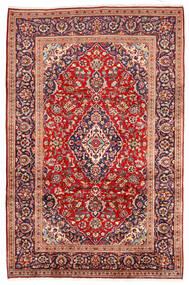 Keshan Matto 195X305 Itämainen Käsinsolmittu Tummanpunainen/Ruoste (Villa, Persia/Iran)