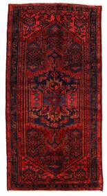 Zanjan Matto 122X240 Itämainen Käsinsolmittu Tummanpunainen/Ruoste (Villa, Persia/Iran)
