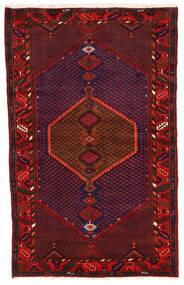 Koliai Matto 123X198 Itämainen Käsinsolmittu Tummanpunainen/Tummanvioletti (Villa, Persia/Iran)
