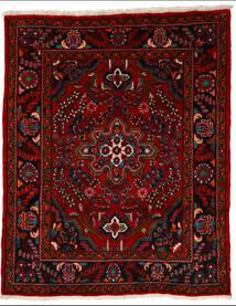 Lillian Matto 164X205 Itämainen Käsinsolmittu Tummanpunainen/Punainen (Villa, Persia/Iran)