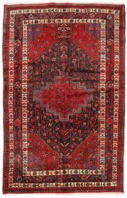 Toiserkan Matto 154X244 Itämainen Käsinsolmittu Tummanpunainen/Tummanruskea (Villa, Persia/Iran)