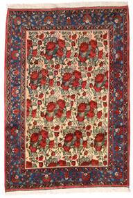 Afshar Matto 164X235 Itämainen Käsinsolmittu Tummanpunainen/Musta (Villa, Persia/Iran)