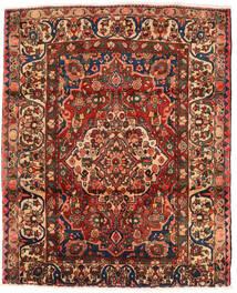 Bakhtiar Matto 174X214 Itämainen Käsinsolmittu Tummanruskea/Tummanpunainen (Villa, Persia/Iran)