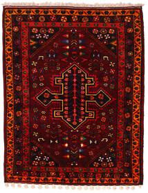 Koliai Matto 160X200 Itämainen Käsinsolmittu Tummanpunainen/Punainen (Villa, Persia/Iran)