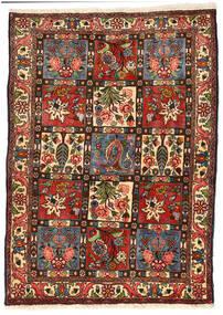 Bakhtiar Collectible Matto 114X158 Itämainen Käsinsolmittu Musta/Tummanvihreä (Villa, Persia/Iran)