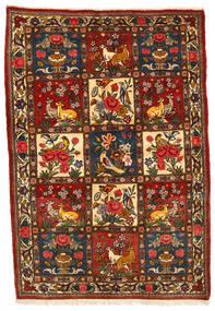 Bakhtiar Collectible Matto 108X158 Itämainen Käsinsolmittu Musta/Tummanruskea (Villa, Persia/Iran)