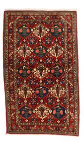 Bakhtiar Collectible Matto 115X155 Itämainen Käsinsolmittu Musta/Ruoste (Villa, Persia/Iran)
