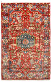Nahavand Old Matto 150X238 Itämainen Käsinsolmittu Tummanpunainen/Punainen (Villa, Persia/Iran)