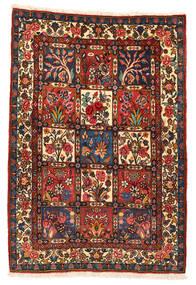 Bakhtiar Collectible Matto 106X152 Itämainen Käsinsolmittu Tummanpunainen/Musta (Villa, Persia/Iran)