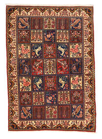 Bakhtiar Collectible Matto 108X152 Itämainen Käsinsolmittu Tummanruskea/Musta (Villa, Persia/Iran)