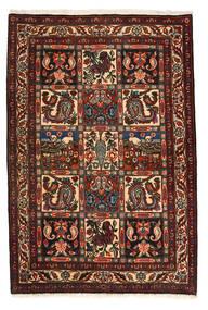 Bakhtiar Collectible Matto 105X158 Itämainen Käsinsolmittu Tummanruskea/Tummanpunainen (Villa, Persia/Iran)