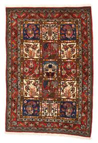 Bakhtiar Collectible Matto 108X156 Itämainen Käsinsolmittu Musta/Punainen (Villa, Persia/Iran)
